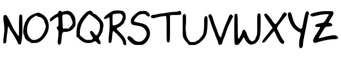 KatysFont Font UPPERCASE