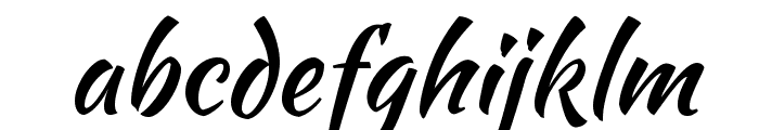 Kaushan Script Font LOWERCASE