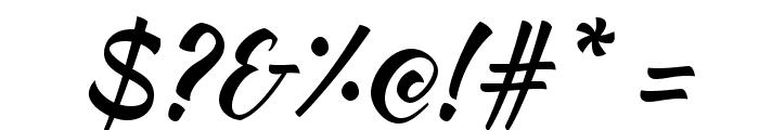 KaushanScript-Regular Font OTHER CHARS