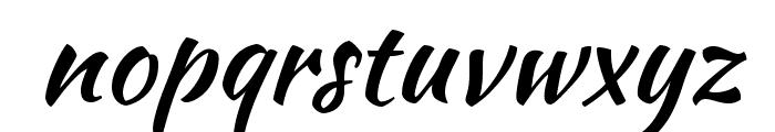 KaushanScript-Regular Font LOWERCASE