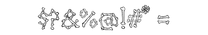 Kavernosa Font OTHER CHARS