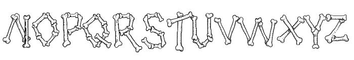 Kavernosa Font UPPERCASE