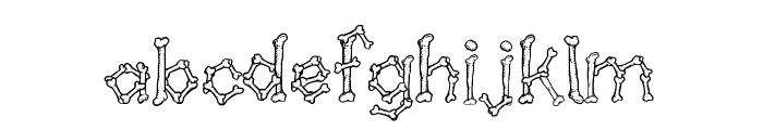 Kavernosa Font LOWERCASE