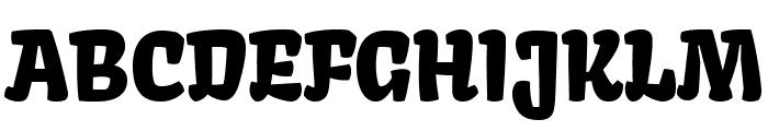 Kavoon-Regular Font UPPERCASE