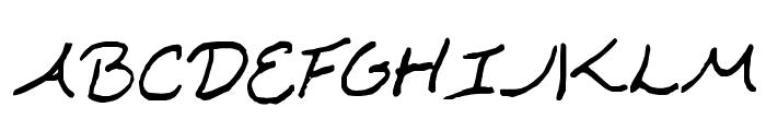 Kawakimi Font UPPERCASE