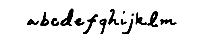 Kawakimi Font LOWERCASE
