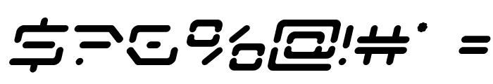 Kaylon Bold Italic Font OTHER CHARS
