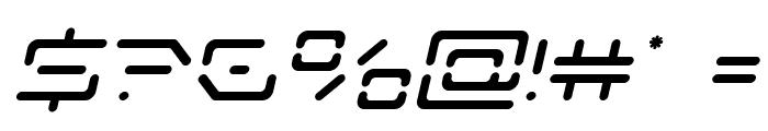 Kaylon Italic Font OTHER CHARS