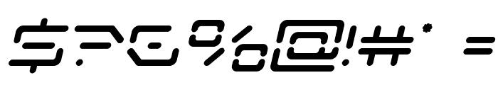 Kaylon Semi-Bold Italic Font OTHER CHARS