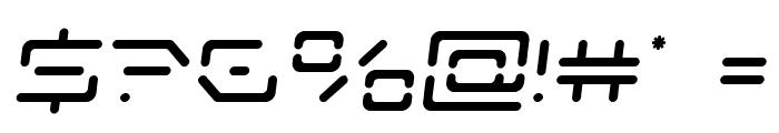 Kaylon Semi-Italic Font OTHER CHARS