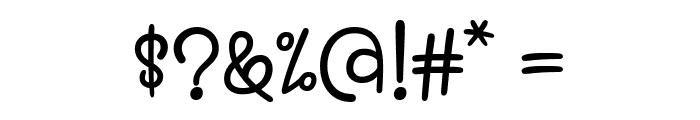 Kaylonick Font OTHER CHARS