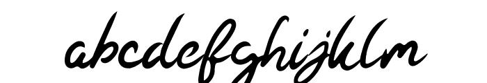 Kaysan Signature Font LOWERCASE