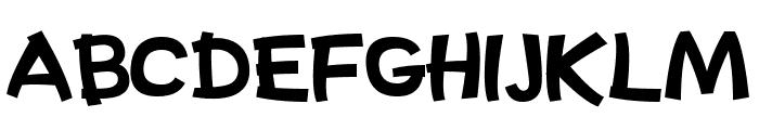 Kazuke Font UPPERCASE