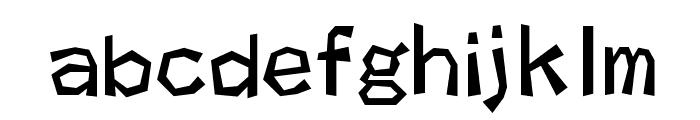 kakukaku1 Font LOWERCASE