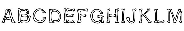 kalansayetika Font UPPERCASE