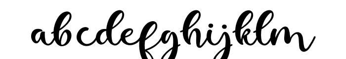 kallithea Regular Font LOWERCASE