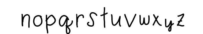 karebear Font LOWERCASE