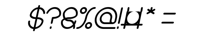 karitza Bold Italic Font OTHER CHARS