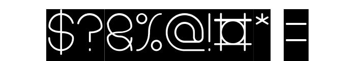 karitza-Inverse Font OTHER CHARS