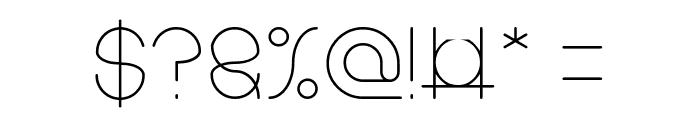 karitza-Light Font OTHER CHARS