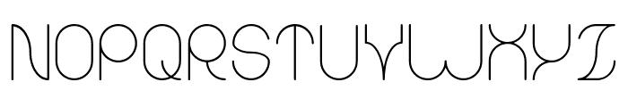 karitza-Light Font UPPERCASE