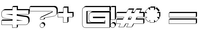 kaufhalle_blech Font OTHER CHARS