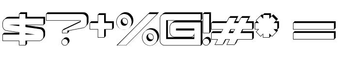 kaufhalleblech Font OTHER CHARS
