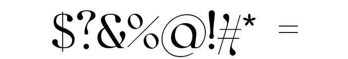 kawoszeh Font OTHER CHARS