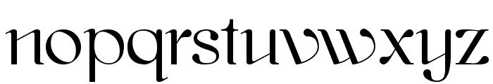 kawoszeh Font LOWERCASE