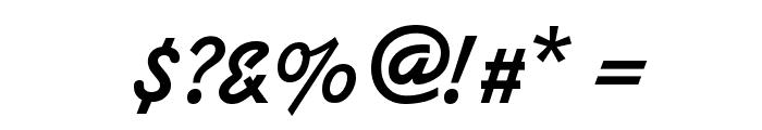 Kaleidoscope-Regular Font OTHER CHARS