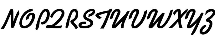 Kaleidoscope-Regular Font UPPERCASE