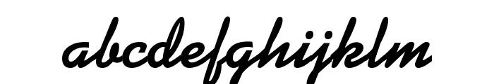 Kaleidoscope-Regular Font LOWERCASE