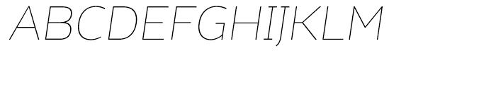 Kahlo Light Essential Italic Font UPPERCASE
