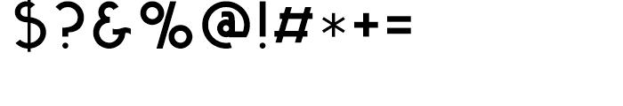 Kaikoura Regular Font OTHER CHARS