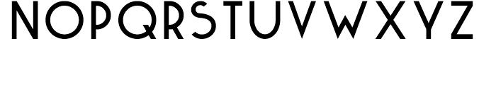 Kaikoura Regular Font UPPERCASE