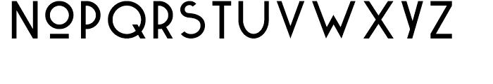 Kaikoura Regular Font LOWERCASE