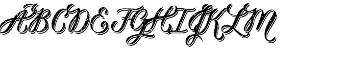 Kailey the Beautiful Font UPPERCASE