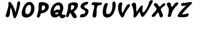 Kairengu Bold Oblique Font UPPERCASE