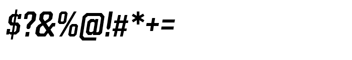 Kairos Condensed Medium Italic Font OTHER CHARS