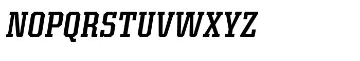 Kairos Condensed Medium Italic Font UPPERCASE