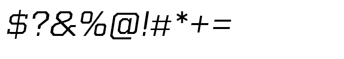 Kairos Extended Italic Font OTHER CHARS