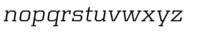Kairos Extended Italic Font LOWERCASE