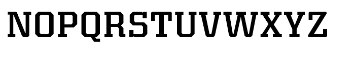 Kairos Medium Font UPPERCASE