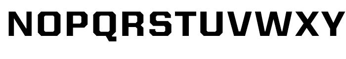 Kairos Sans Extended Bold Font UPPERCASE