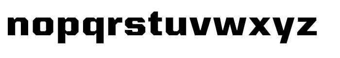 Kairos Sans Extended ExtraBold Font LOWERCASE