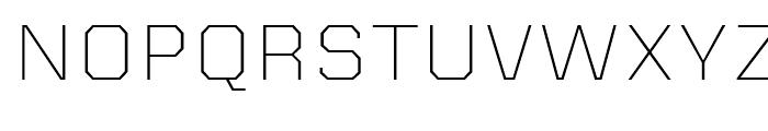 Kairos Sans Extended ExtraLight Font UPPERCASE
