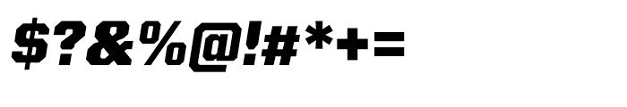 Kairos Sans ExtraBold Italic Font OTHER CHARS