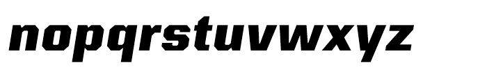 Kairos Sans ExtraBold Italic Font LOWERCASE