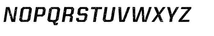 Kairos Sans Rough Italic Font UPPERCASE