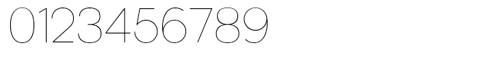 Kaleko 205 Thin Font OTHER CHARS
